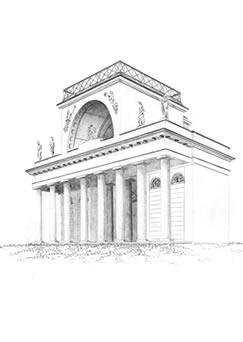 rozhledna Apollonův chrám