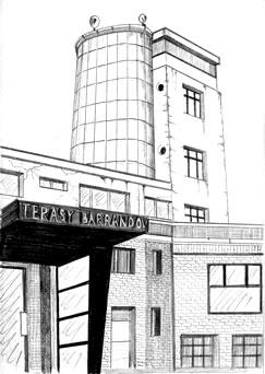 rozhledna Barrandovské terasy