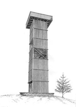 rozhledna Císařský kámen II