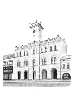 rozhledna Frenštát pod Radhoštěm – radnice