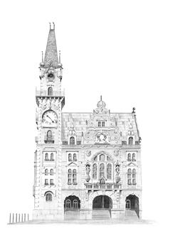 rozhledna Frýdlant – radnice