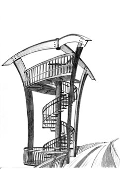 rozhledna Lahovický most