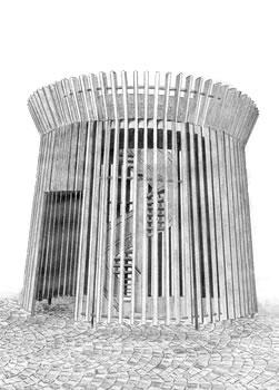 rozhledna Lednice – kolonáda
