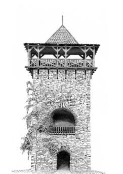 rozhledna Nový hrad