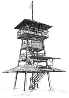 rozhledna Šiklův mlýn
