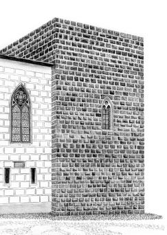 rozhledna Zvíkov Hlízová věž